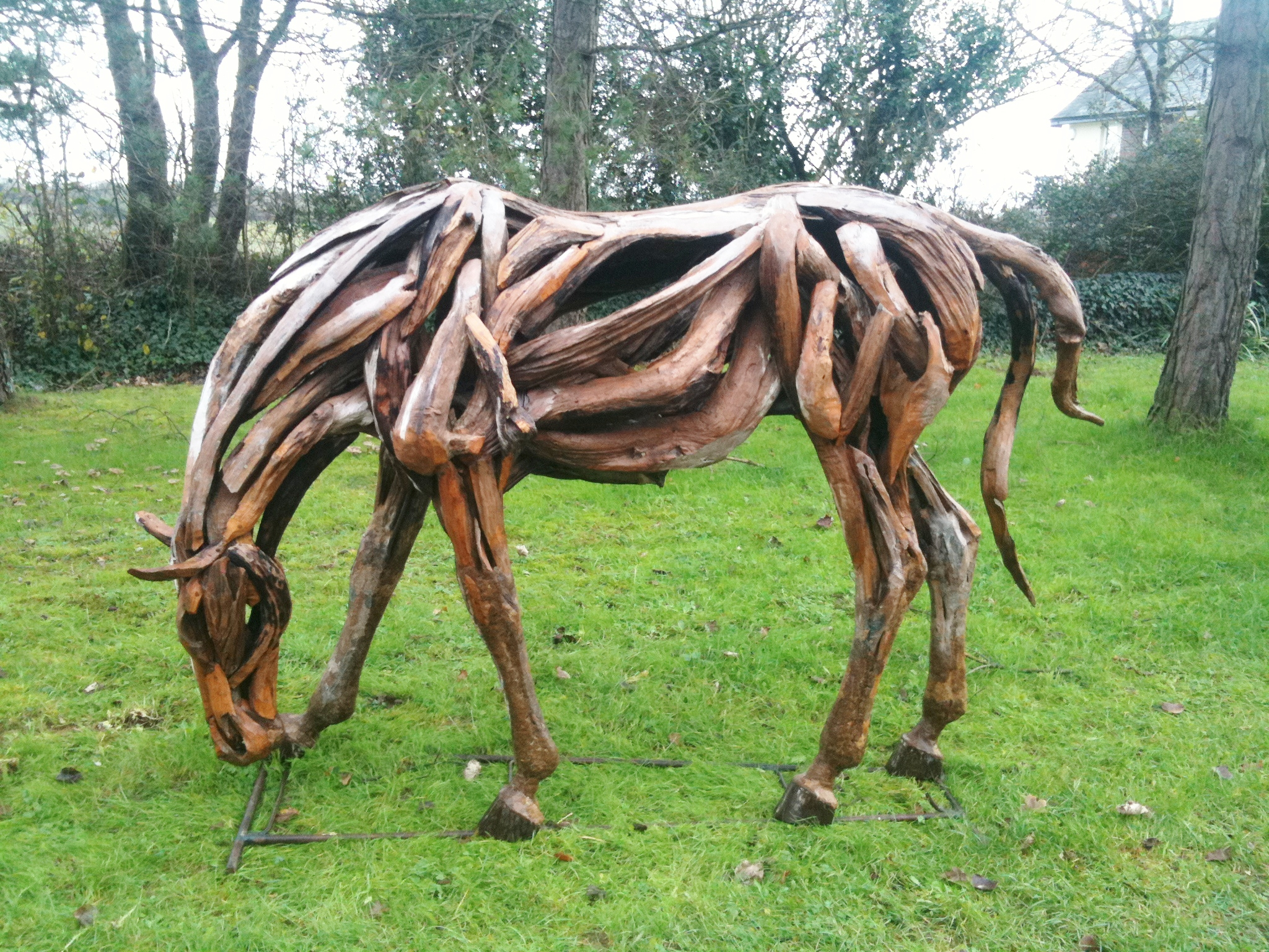 Driftwood War Horse Creation Chiselcraft