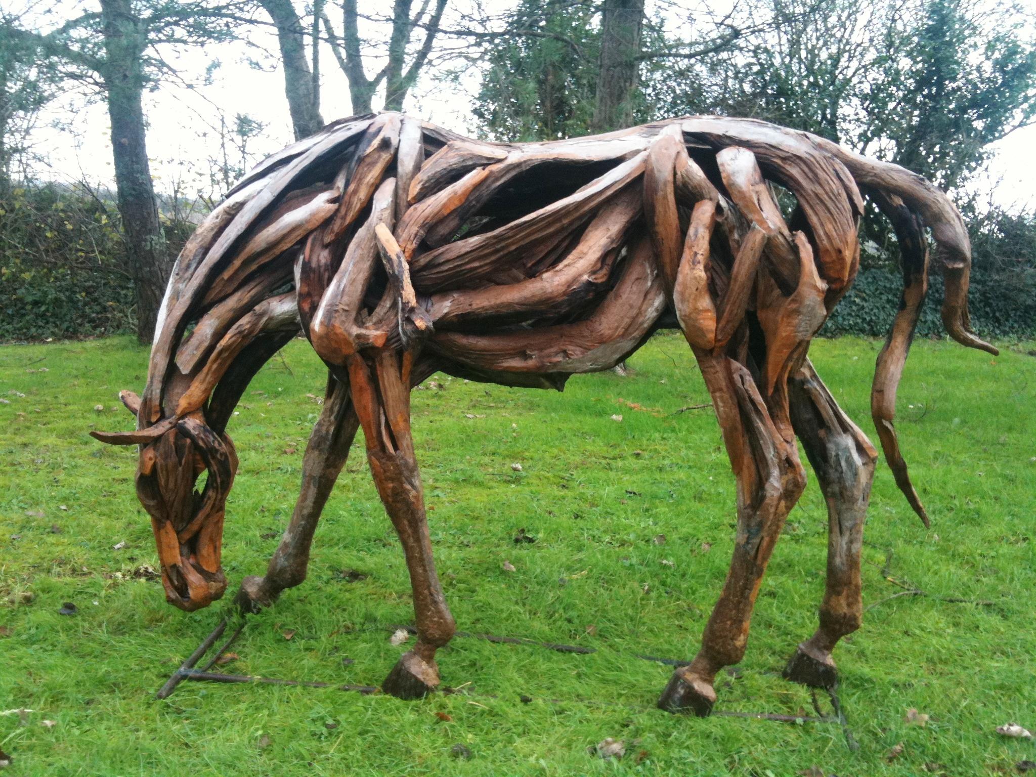 Driftwood War Horse Creation Chiselcraft