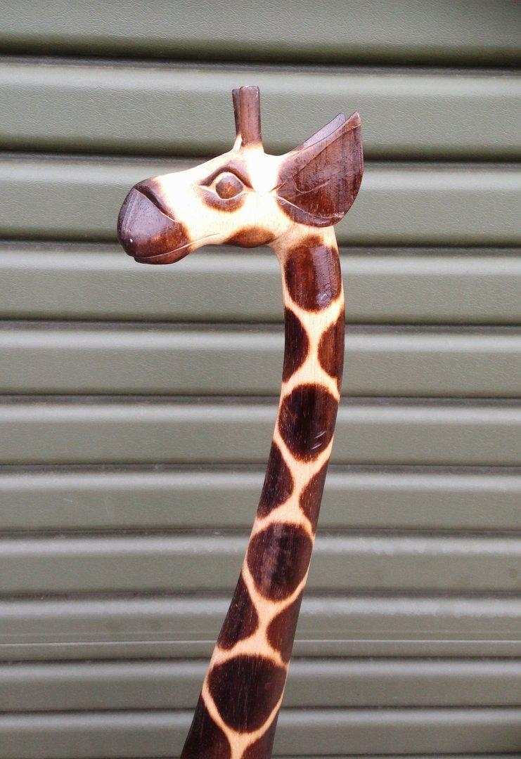 Wooden Giraffe 150cm Chiselcraft