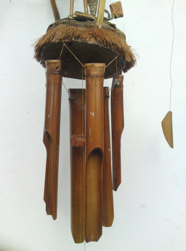 Wooden Dragon Wind Chime Chiselcraft