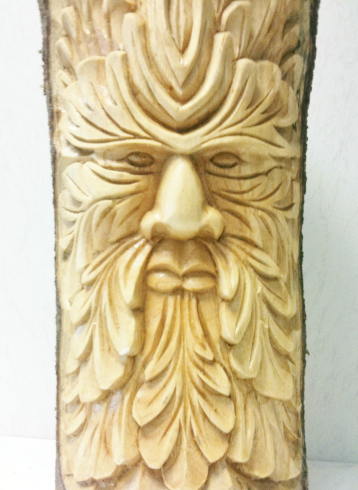 Green Man Forest Log Table Chiselcraft Co Uk