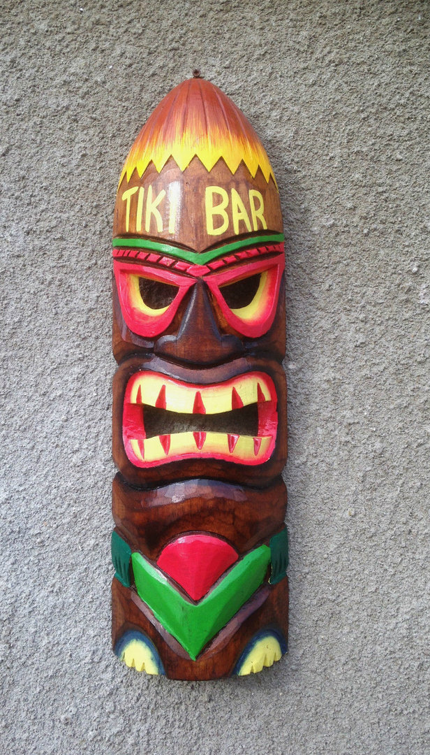 Tiki Mask Tiki Bar Chiselcraft