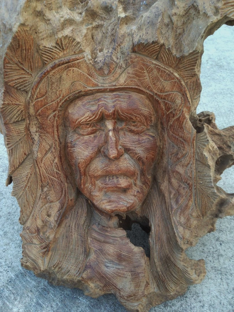 Teak wood indian carving chiselcraft hand made
