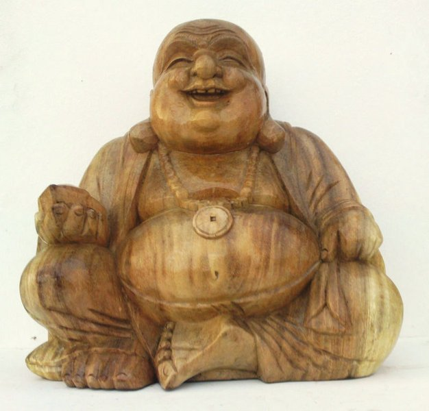 Happy fat chubby cm buddha chiselcraft