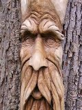 Green Man Wood Carvings