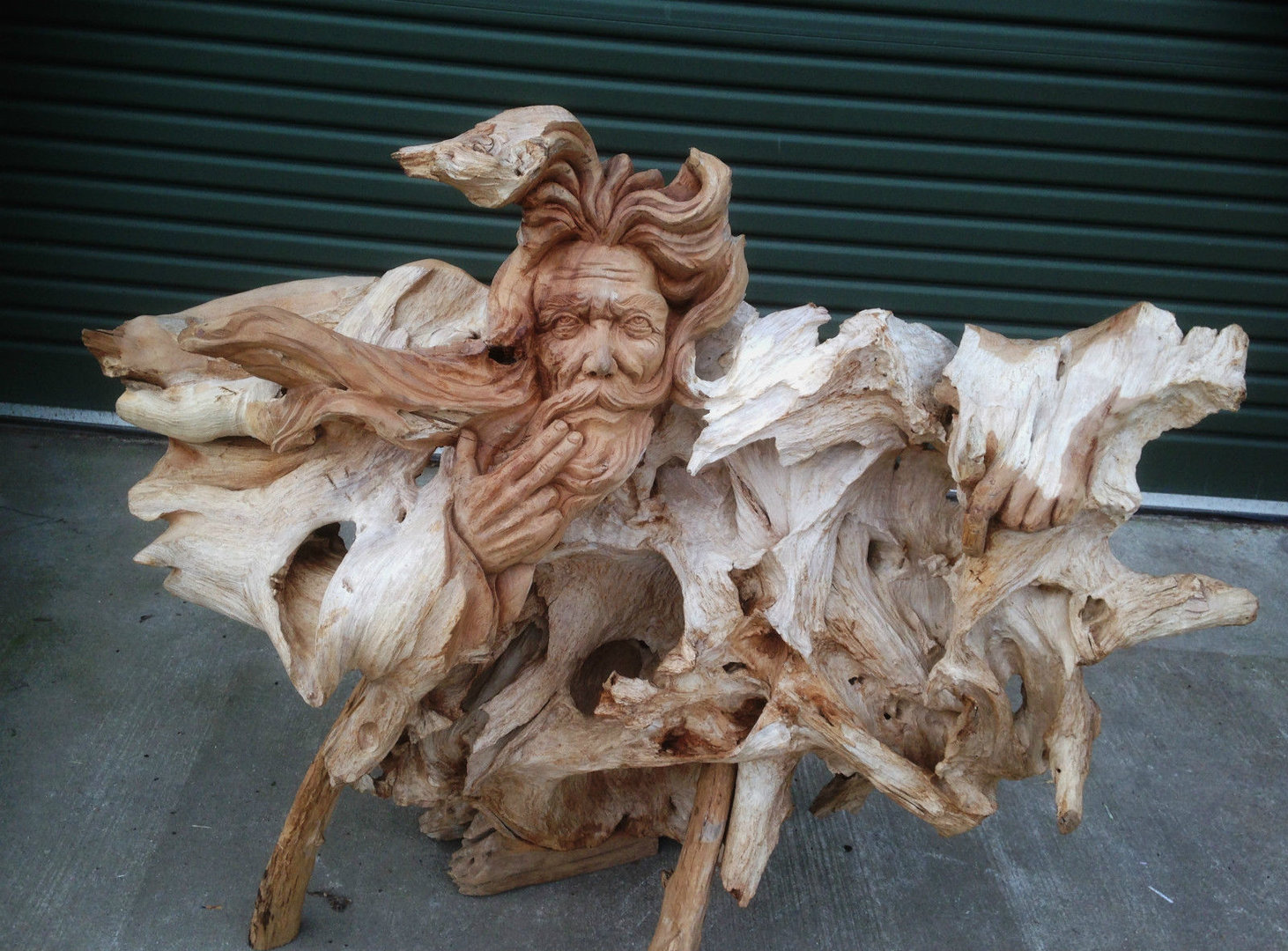 Teak Root Wood Carving Woody Chiselcraft